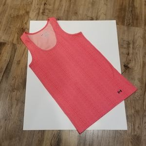 Under Armor Tank. Fitted Style. Snakeskin Print Lg